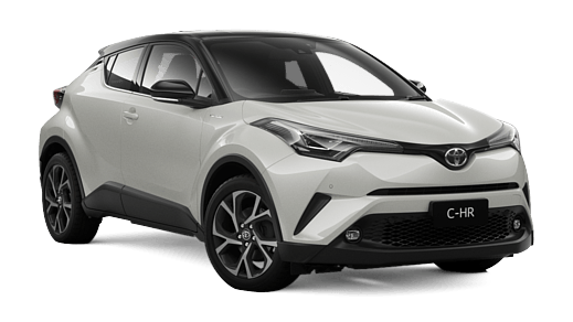 Brand New 2018 Toyota C-HR Koba AWD Automatic CVT (Crystal Pearl with Black  Roof)
