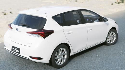 Test Drive 2018 Toyota Corolla Hybrid Hatch Automatic CVT (Glacier White)