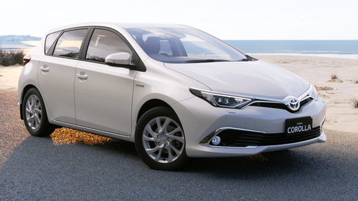 Your Toyota Corolla Hybrid Hatch Automatic CVT With Toyota Safety Sense