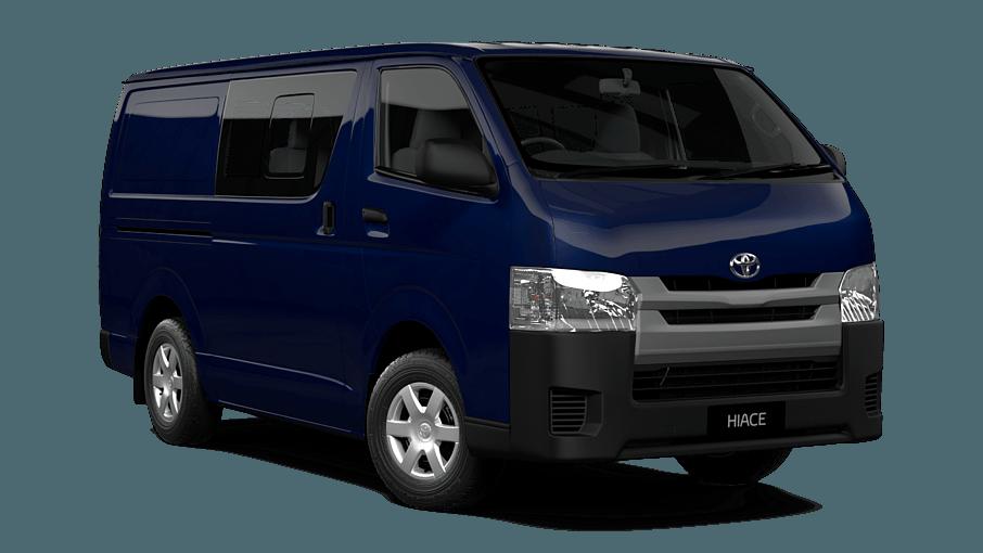Hiace Long Wheelbase Crew Van Cessnock Toyota