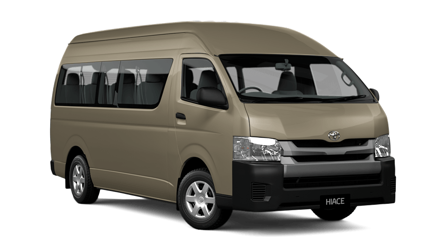 hiace slwb commuter bus petrol noble toyota
