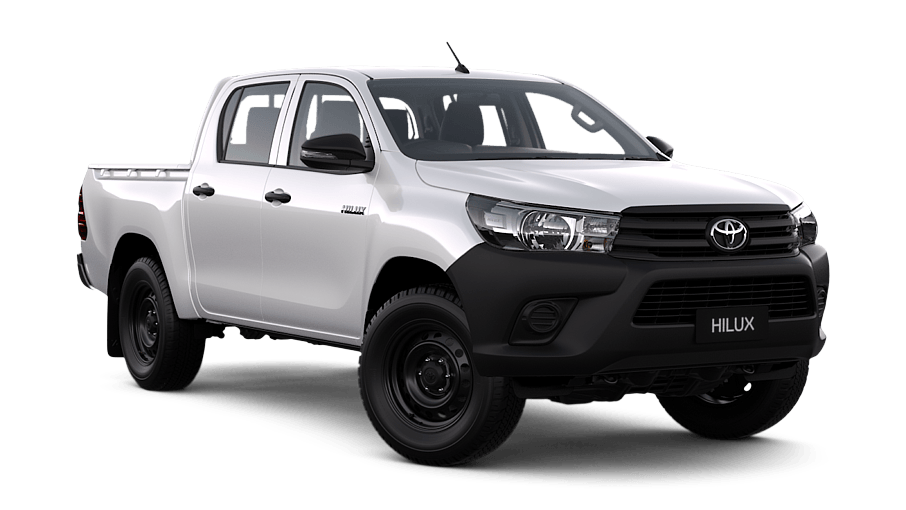 hilux 4x4 workmate double cab pick up cmi toyota. Black Bedroom Furniture Sets. Home Design Ideas