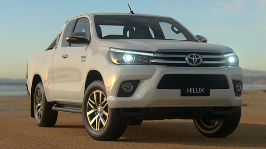 Brand New 2016 Toyota HiLux 4x4 SR5 Extra-Cab Pick-up (Glacier White)