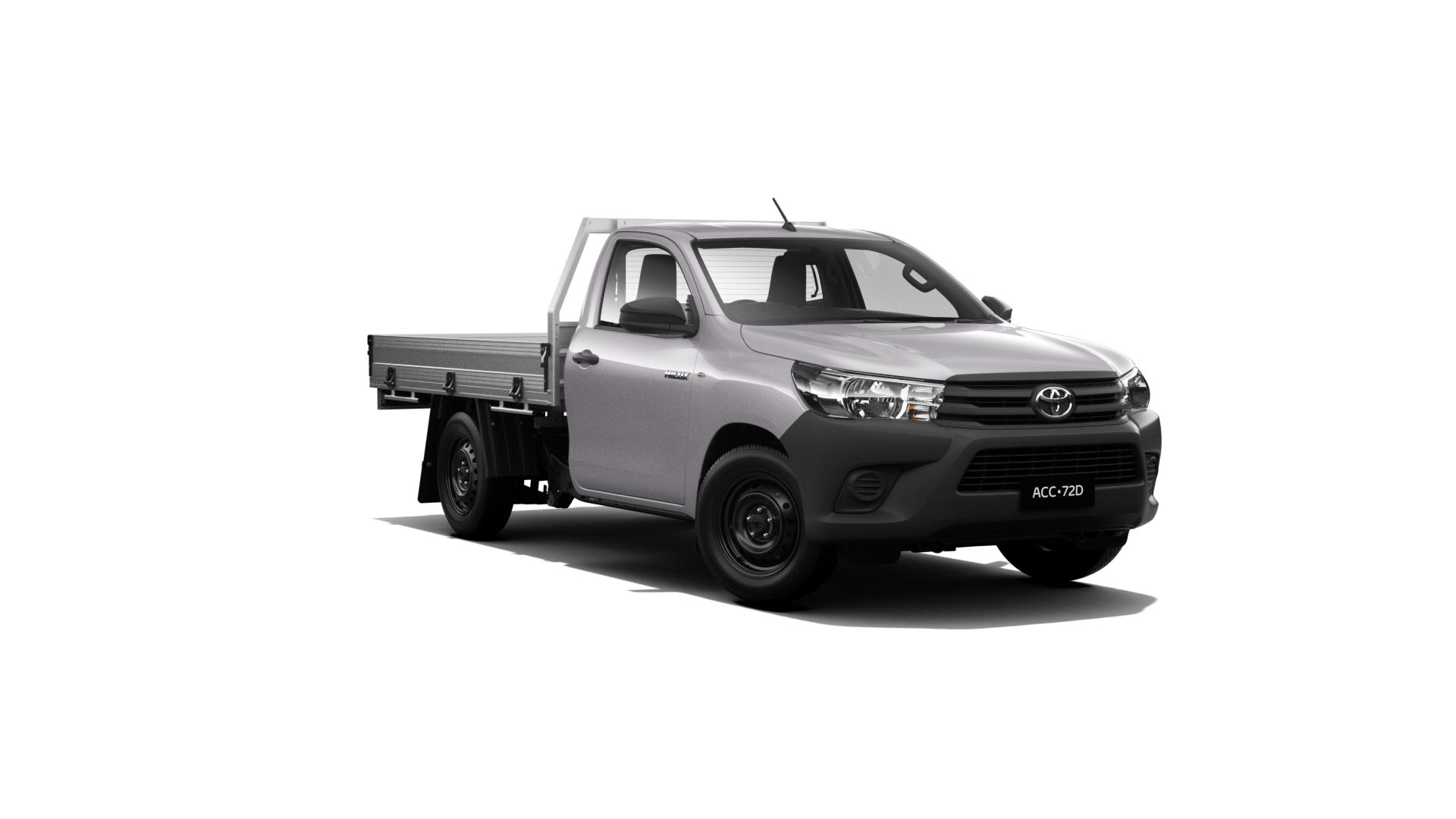 New Toyota HiLux 4x2 Workmate Single Cab Cab Chassis