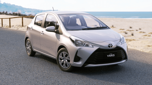 Awesome Brand New 2018 Toyota Yaris Ascent Hatch Automatic (Silver Pearl)