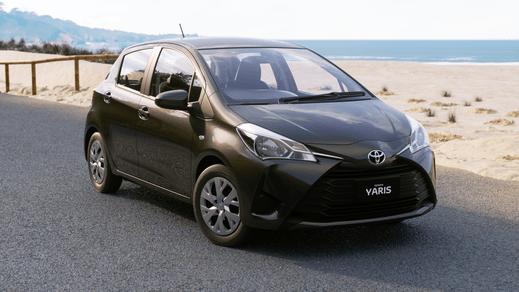 Brand New 2018 Toyota Yaris Ascent Hatch Automatic (Graphite)