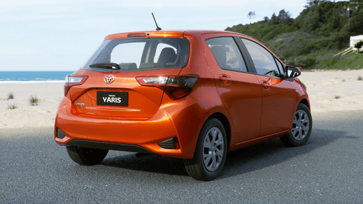 Test Drive 2018 Toyota Yaris Ascent Hatch Automatic (Inferno)