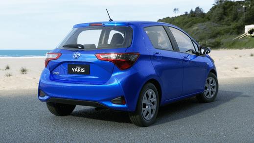 Test Drive 2017 Toyota Yaris Ascent Hatch Automatic (Tidal Blue)