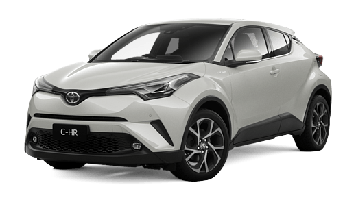 Test Drive 2017 Toyota C HR Koba AWD Automatic CVT (Crystal Pearl)