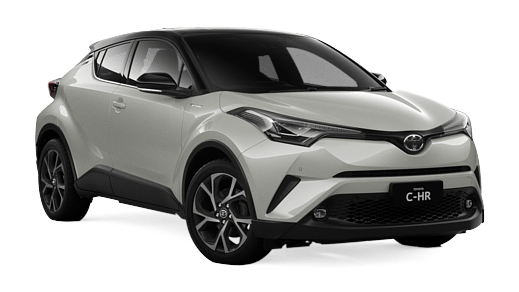 release date: 8d998 30ec0 Brand New 2018 Toyota C-HR Koba 2WD Automatic CVT (Crystal Pearl with Black  Roof)