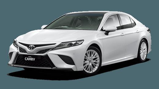 Test Drive 2018 Toyota Camry Sl Petrol V6 Glacier White