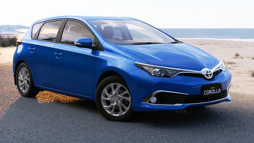 Brand New 2017 Toyota Corolla Ascent Sport Hatch Automatic Cvt Blue Gem