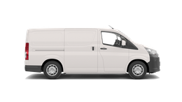 View our HiAce stock at Gowings Toyota