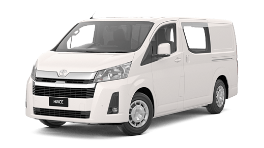 HiAce Long Wheelbase Van Petrol Manual | Sci-Fleet Toyota