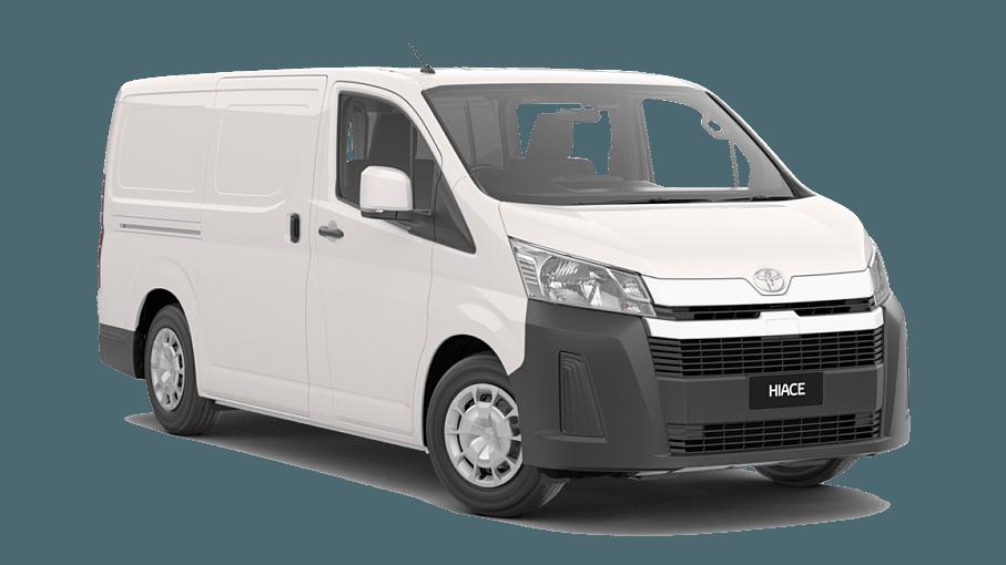 Hiace Long Wheelbase Van Petrol Manual Cowra Toyota