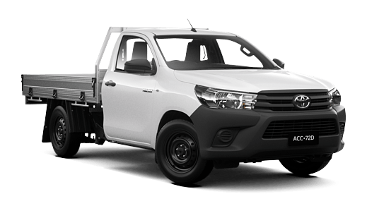 Hilux 4x2 workmate single cab cab chassis ryde toyota brand new 2018 toyota hilux 4x2 workmate single cab cab chassis glacier white fandeluxe Image collections