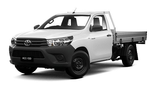 HiLux 4x2 Workmate Single-Cab Cab-Chassis | Sydney City Toyota