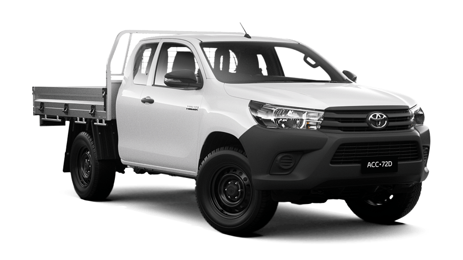 Hilux 4x4 Workmate Extra Cab Cab Chassis Melbourne City