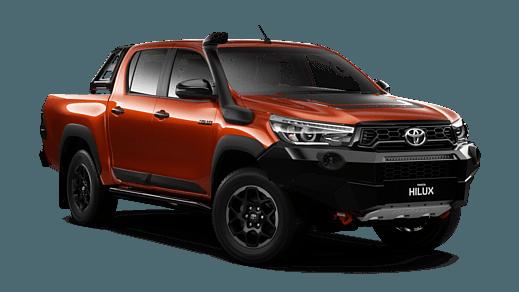 9b88d2b4eeb7f Brand New 2019 Toyota HiLux Rugged X 4x4 Double-Cab Pick-up (Inferno)