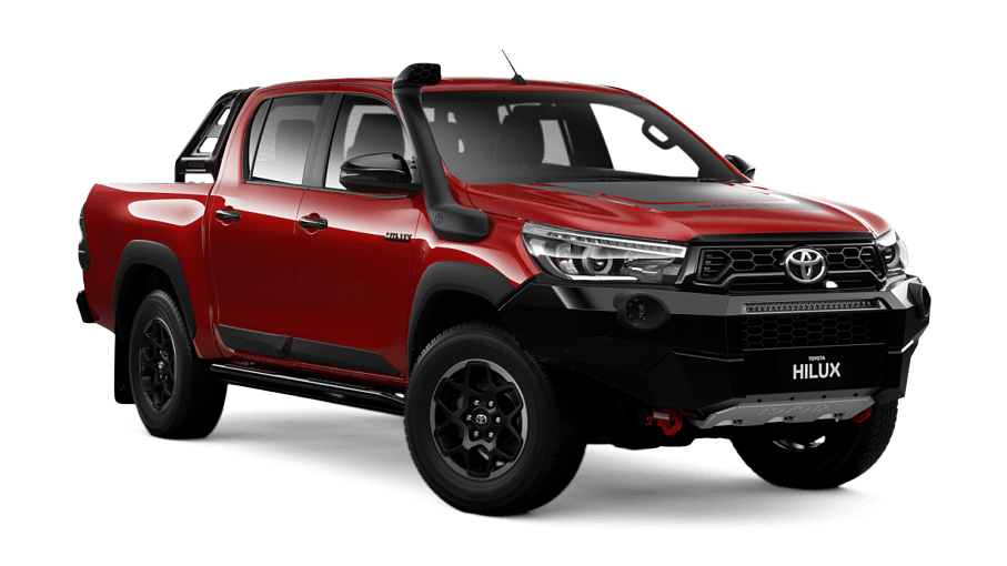Hilux Rugged X 4x4 Double Cab Pick Up Charters Towers Toyota
