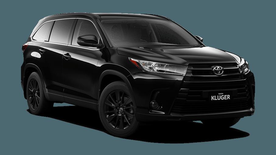 Kluger Black Edition Awd Lander Toyota