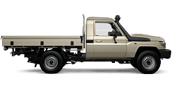 View our LandCruiser 70 stock at Broome Toyota