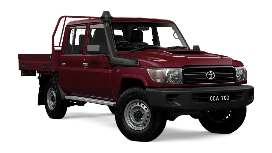 LandCruiser 70 Workmate Double-Cab Cab-Chassis   Mackay Toyota c7a5e6aa8e
