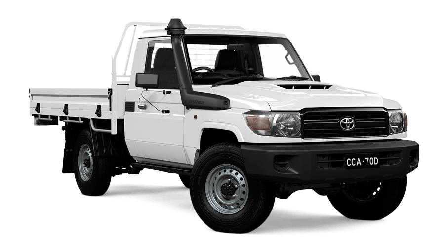 LandCruiser 70 Workmate Single-Cab Cab-Chassis | Mike Carney Toyota