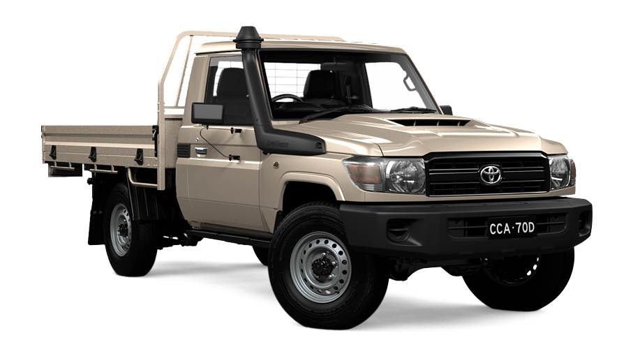 LandCruiser 70 Workmate Single-Cab Cab-Chassis  673387459