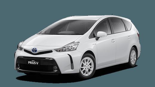 Test Drive 2018 Toyota Prius V Glacier White